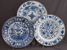 Plates with different decoration - China - 18th century.