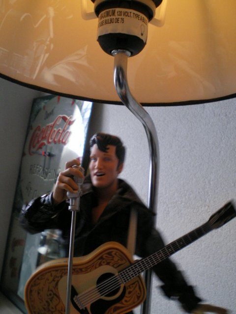Animation Elvis Presley Lamp