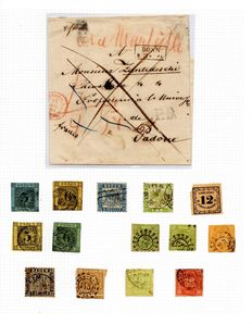 Old Germany and German Empire/Reich - 1860 -1940 - collection on album sheets