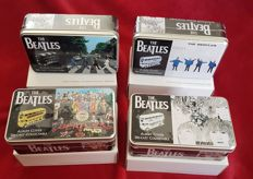 The Beatles Corgi Car 2008 Routemaster Bus set Complete, Boxed and Sealed in Presentation Tin ~ Help~Abbey Road~Revolver~Sgt Pepper Limited to 2008 sets