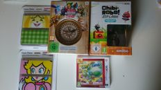 3DS Lot of 3x 3DS games, incl 2 Limited Edtion, incl Hyrule Warriors and 2x NEW 3DS coverplates
