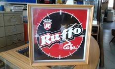 Huge lot of various kinds of different advertising clocks, from bar, bank, chocolate, coffee, soft drinks etc - 10 pieces