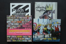 Street-Art & Graffiti; Lot with 4 publications - 2006 / 2011