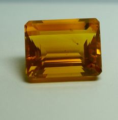 Fire Opal , orange  13.96 ct