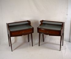 Unknown designer – pair of bedside tables