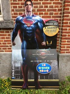 Large advertising sign SUPERMAN