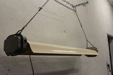 Maker unknown – industrial ceiling light  ( 2x )