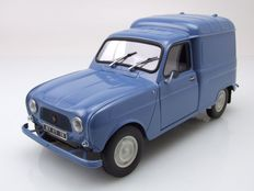 Norev - Scale 1/18 - Renault 4 Fourgonnette - Blue
