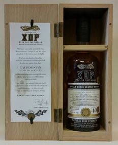 Caledonian 1976 40 years old - Limited Release of Douglas Laing's XOP (Xtra Old Particular) - Closed Distillery - bottle 124 of only 291 worldwide