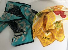 Lot of foulards – Joop and Tiffany & Co