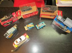 Politoys/Solido/Penny - Scale 1/66-1/43 - Collection of 8 vehicles of different brands