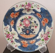 A porcelain dish - China - 18th century