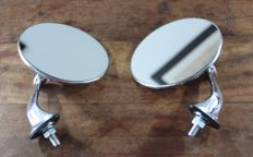 Beautiful Chrome LUCAS Style Wing Mirrors - pair