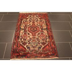 Persian carpet Malayer 130 x 80 cm made in Iran, old rug collector's piece carpet Tapis Tapijt Tappeto