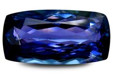 Tanzanite – 4.09 ct with GIA report