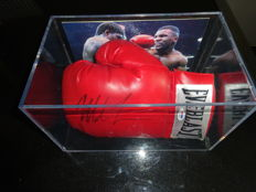 Mike Tyson hand-signed gloves - in box - with COA