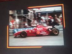 Michael Schumacher - 5 Photographs + 1 F1 Poster