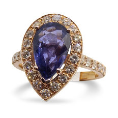 Sapphire Ring, 2.74ct Centre Stone - Size 6.5 (US) - Free Sizing