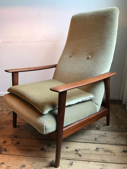 Terrific Unknown Designer Vintage Mid Century Modern Armchair Catawiki Ocoug Best Dining Table And Chair Ideas Images Ocougorg