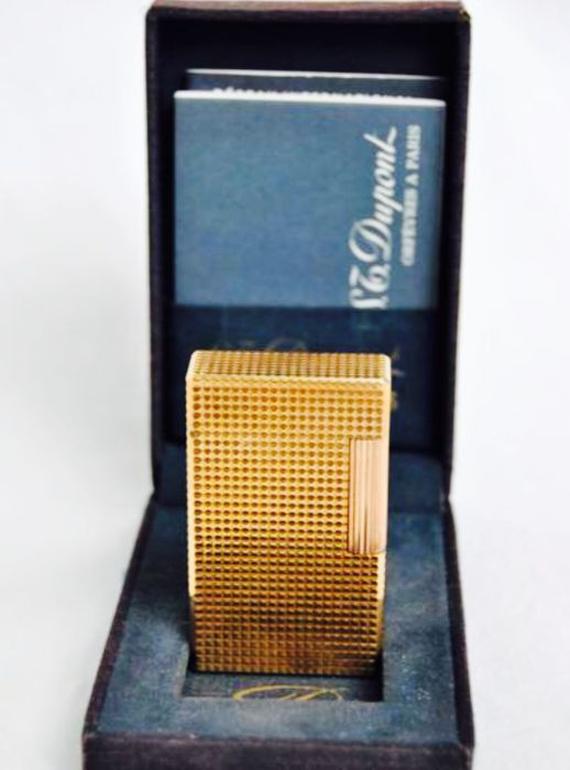 S.T. Gold plated Dupont, from the 80s.