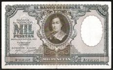 Spain - 2x 1,000 pesetas 1940 - Pick 120a and 125a