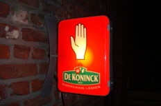 Nice small advertising light for  De Koninck beers