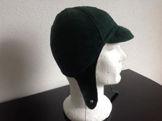 Molton  Driving Helmet  New from Old Stok  color Green     never used