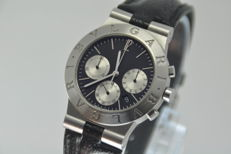 Bvlgari Diagono Chronograph Ch 35 S Quartz - Men's Watch - Rare Model
