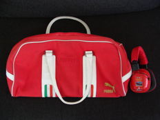 Ferrari - Sports bag Puma + Ear protectors