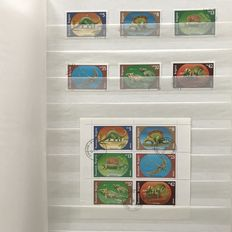 Theme - collection with prehistoric animals/dinosaurs