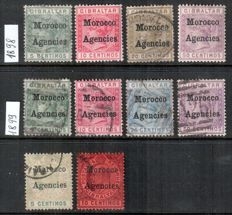 British Commonwealth - Collection on stock pages