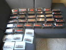 De Agostini - Scale 1/72 - Lot with 32 models: 32 x Fire trucks Various