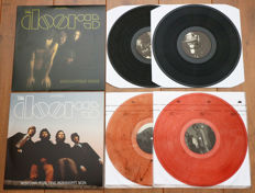 The Doors- lot of 2x The Doors live (2 double lp's!): Absolutely Rare 2lp (with live, alternate, demo & unreleased tracks) & Waiting For The Midnight Sun 2lp (Absolutely live in Stockholm 1968, on smokey brown wax!)