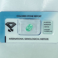 Paraiba tourmaline – 2.28 ct – no reserve price