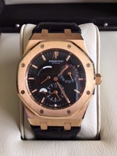 Audemars Piguet Royal Oak Dual Time Power Reserve - Mens watch