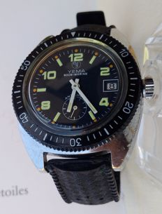 Submarine Yema – Men's watch – 1970s