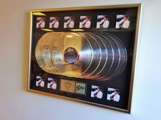 Michael Jackson - Thriller 10x Platinum In-house Award