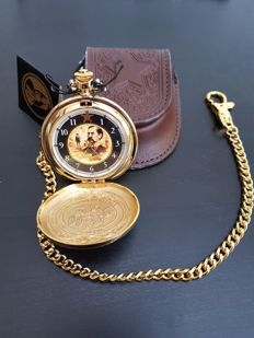 Franklin Mint Collector's Pocketwatch - Wyatt Earp's pocketwatch - The Legends of The West - Ca. 1983, USA