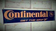 Nice Continental Tyres banner  for in your garage, shop or office - 120 x 35 cm
