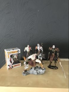 Lot of 5x Kratos God Of War