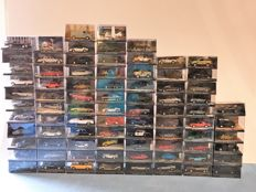 83 cars from the James Bond car collection scale 1:43