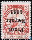 City Post Hamburg Hammonia Hamburg Hammonia, with overprint