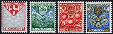 The Netherlands 1926 - Children's stamps with vertical watermark - NVPH 199a/202a