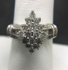 Ladies cocktail Diamond ring