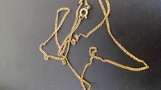 Gold (14 kt) choker from an inheritance - 5 g - No reserve