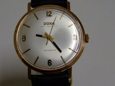 DOXA Anti Magnetic 14K Rose Gold Watch Automatic 34MM Case