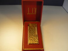 Dunhill lighter gold plated