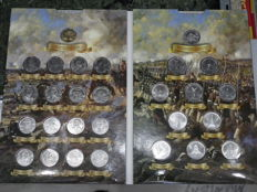 Russia - 2, 5, 10 Roubles 2012 200th anniversary of Russia's victory in the Patriotic War of 1812 (Set, 28 coins)