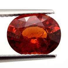 Granate Espesartina Rojo-Naranja - 3.56 ct. - No Reserve Price