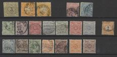 Historic German States 1851-1919 – Selection